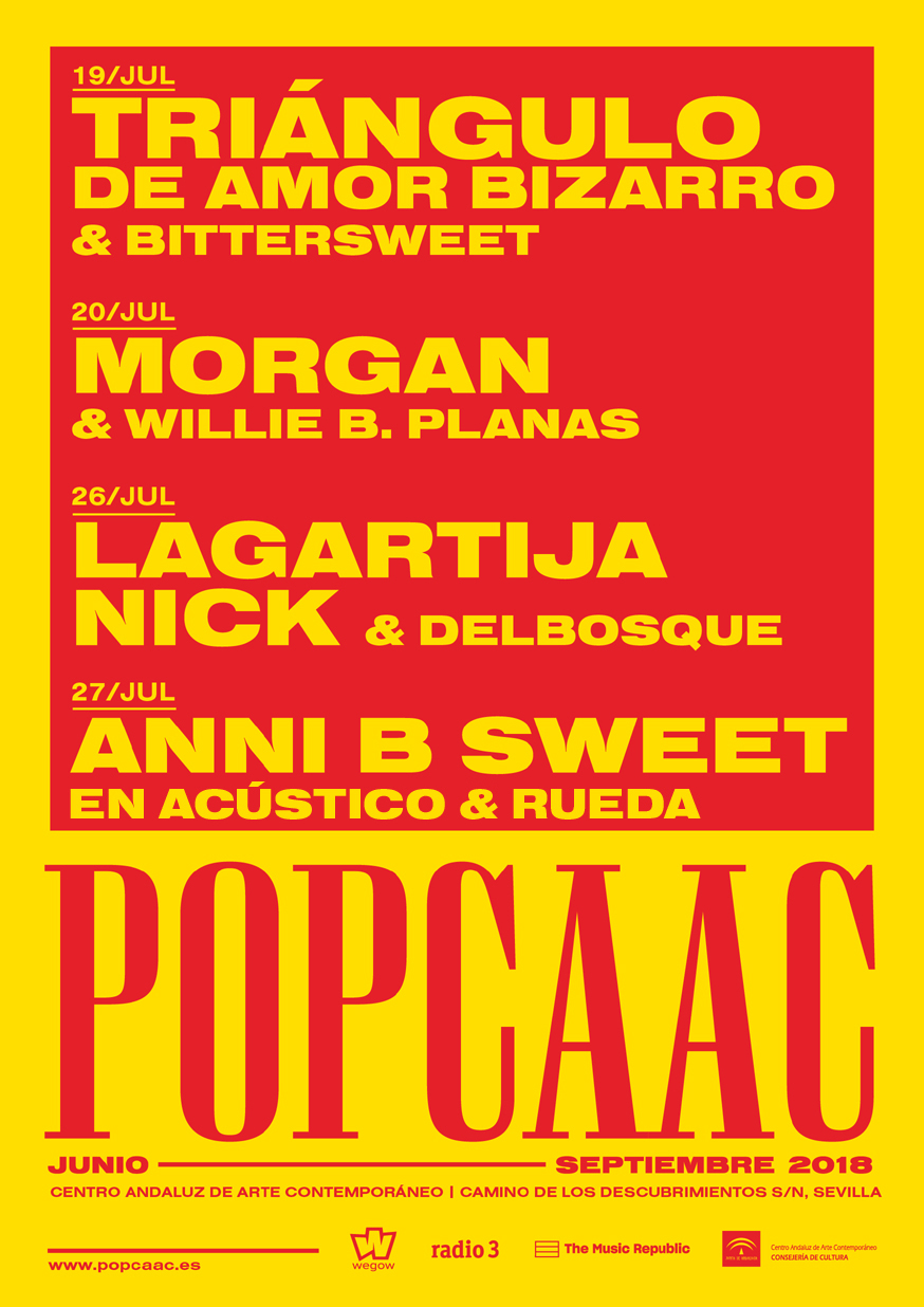 Cartel Junio/Julio - POP CAAC 2018